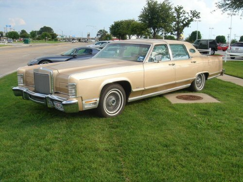 78 LINCOLN CONTINENTAL TOWNCAR